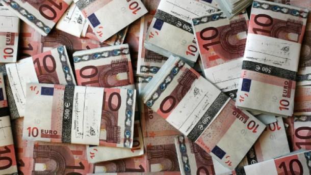 Die Geldmenge wächst im Rekordtempo