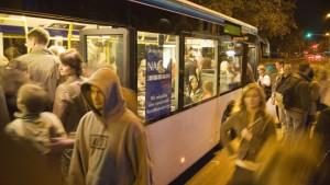 Nachtbusse jetzt jede Nacht