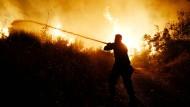Schwerer Waldbrand in griechischer Ferienregion