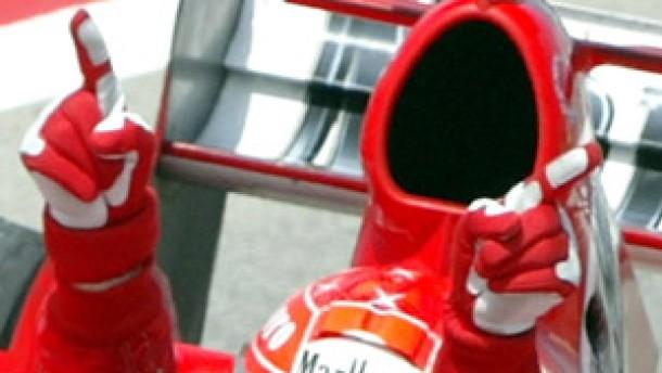 Fünftes Rennen, fünfter Sieg: Schumacher dominiert weiter