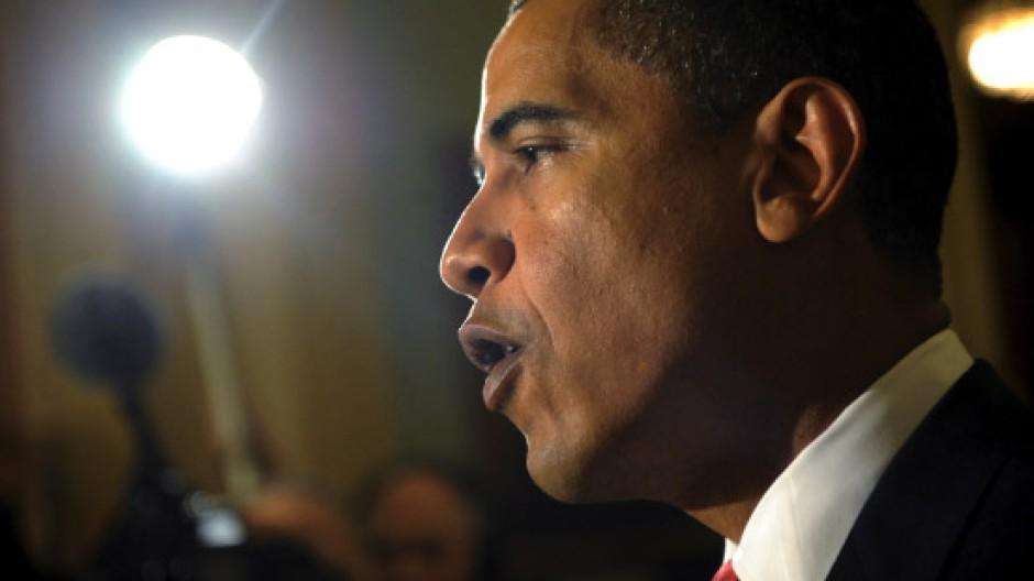 Die Milliarden sollen bald fließen: Amerikas Präsident Barack Obama