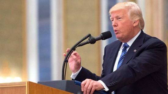 """Trump spricht vom Kampf """"Gut gegen Böse"""""""