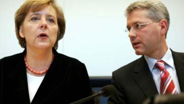 Union ruft SPD zur Mäßigung auf