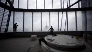 Das zweithöchste Gebäude der Welt