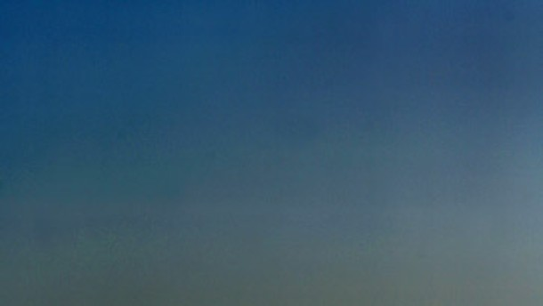 Frankfurter Skyline in Nebel gehüllt