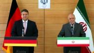 Sigmar Gabriel besucht Iran