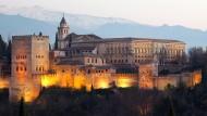 Granada im südspanischen Andalusien