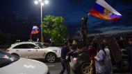 Moskau außer Rand und Band