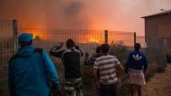 Waldbrand bedroht chilenische Hafenstadt