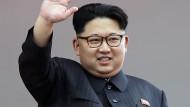 Nordkorea rasselt mit den Säbeln
