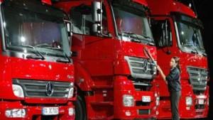 Export bei deutschen Lkw-Herstellern boomt