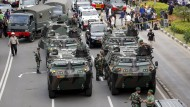 Explosionen und Schießerei in Jakarta
