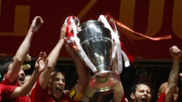 Manchester United gewinnt die Champions League