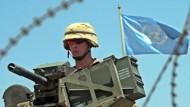 UN-Gebäude in Bagdad - viel zu sagen hat die Weltorganisation hier nicht.