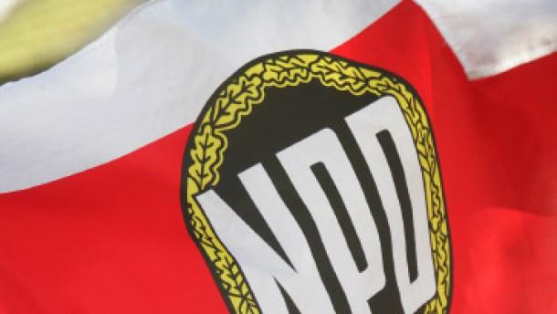 Für die NPD ist der Polizeichef ein Feind