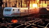 Die Bahn will sich nicht von den Schienen trennen