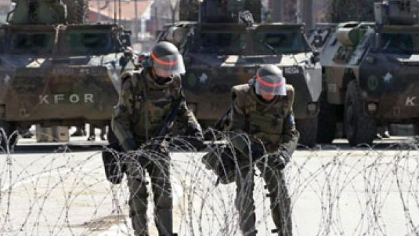 Bundeswehr verlegt 600 Soldaten in das Kosovo