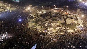 Jubel in ganz Ägypten