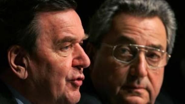 """Wirtschaft schlägt Schröder und Merkel """"Agenda 2005"""" vor"""