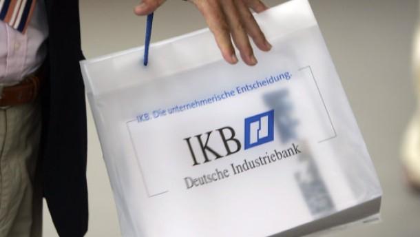 IKB-Bank im Nebel