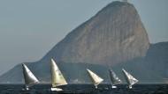 Brasilien putzt die Olympia-Bucht