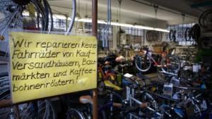 Harte Zeiten für Fahrradhändler