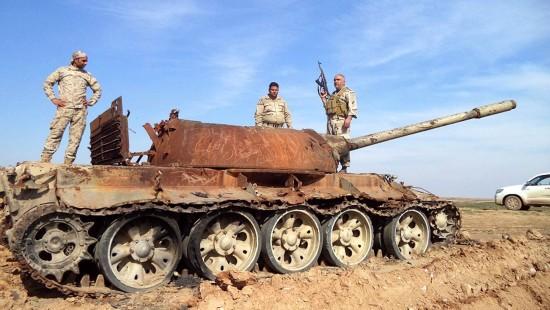 Irakische Armee erobert al Bagdadi zurück
