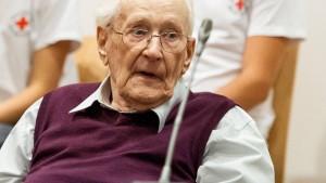 Dreieinhalb Jahre Haft für früheren SS-Mann Gröning gefordert