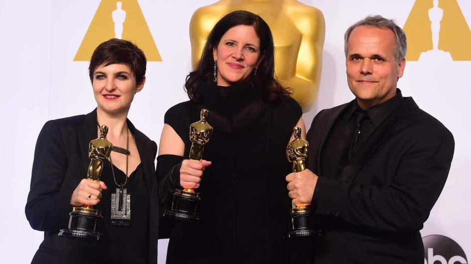Film über Edward Snowden ist bester Dokumentarfilm