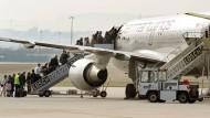 Sicherheitspersonal an Flughäfen streikt