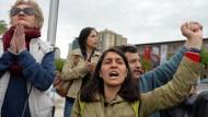Polizei in Ankara vertreibt Demonstranten mit Tränengas