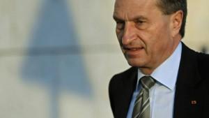 Bafin nimmt Oettinger ins Visier