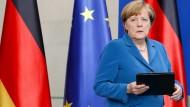 Angela Merkel spricht nach Amoklauf
