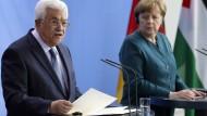 Merkel äußert sich zu Zwei-Staaten-Lösung