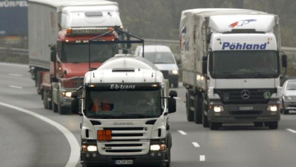 A 3 in Richtung Frankfurt gesperrt