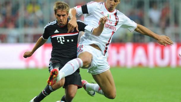 Bayern im Elfer-Glück gegen AC Mailand