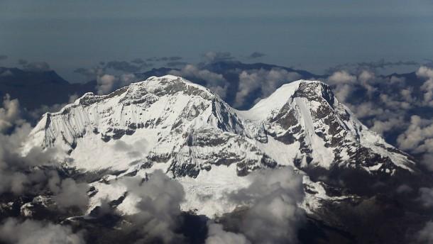 Bergsteiger sterben in den Anden