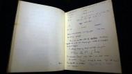 Notizbuch von Alan Turing für 1 Million Euro versteigert