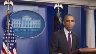 Obama fordert schärfere Waffengesetze