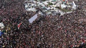 Wieder Zehntausende auf dem Tahrir-Platz