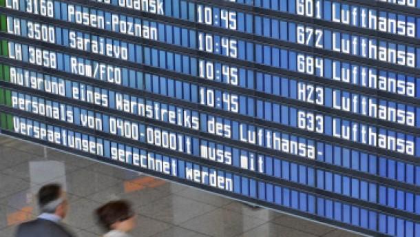 Massive Behinderungen im Flugverkehr