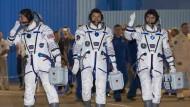Astronauten erreichen ISS