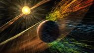 Marsatmosphäre vom Sonnenwind verweht?