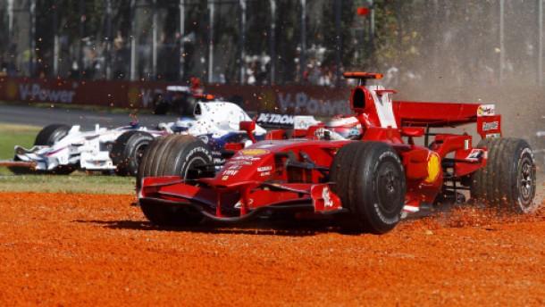 Ferrari in Melbourne - fast wie die Bayern in Cottbus
