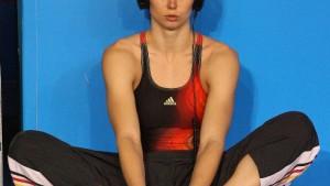 Britta Steffen lernt Wettkampfhärte