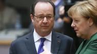 Merkel und Hollande sehen Assad als alleinigen Verantwortlichen