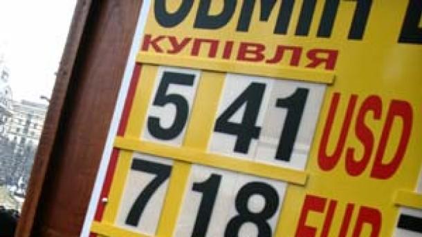 Die Staatskassen der Ukraine sind fast leer