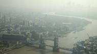 London entlang der Themse