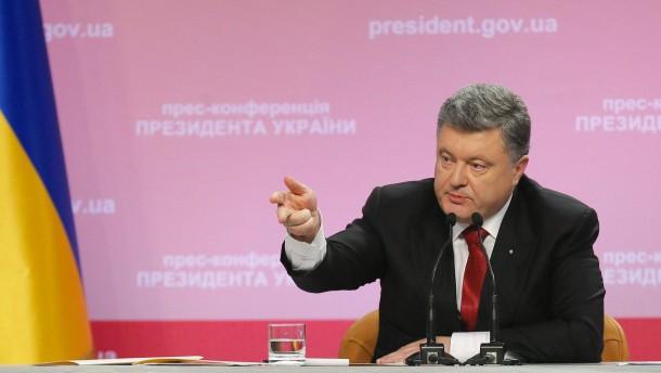 Poroschenko kündigt Gipfeltreffen für Januar an