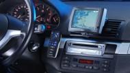 Kopilot: Das neue Navigationssystem MS 5400 von VDO Dayton weist in ganz Europa den Weg